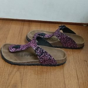 Sparkly Betula Sandals (by Birkenstocks)
